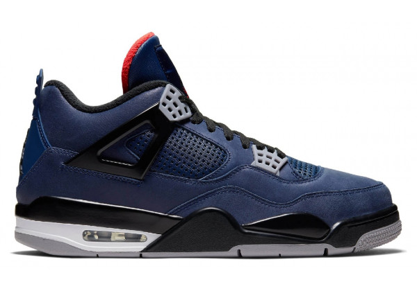 Nike air Jordan 4 синии