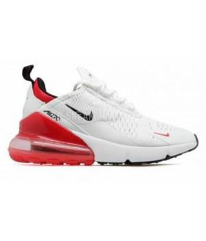 Nike air 270 белые с красным