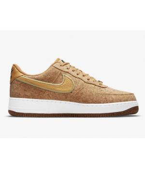 Кроссовки Nike Air Force 1 '07 Premium коричневые