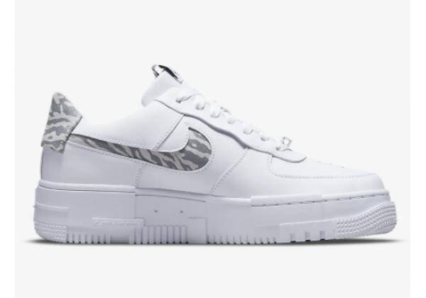 Кроссовки Nike Air Force 1 Pixel SE белые
