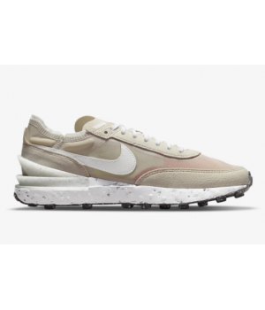 Кроссовки Nike Waffle One Crater SE бежевые