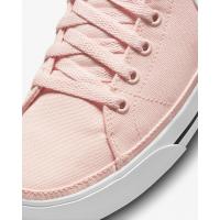 Кроссовки Nike Court Legacy Canvas Mid розовые