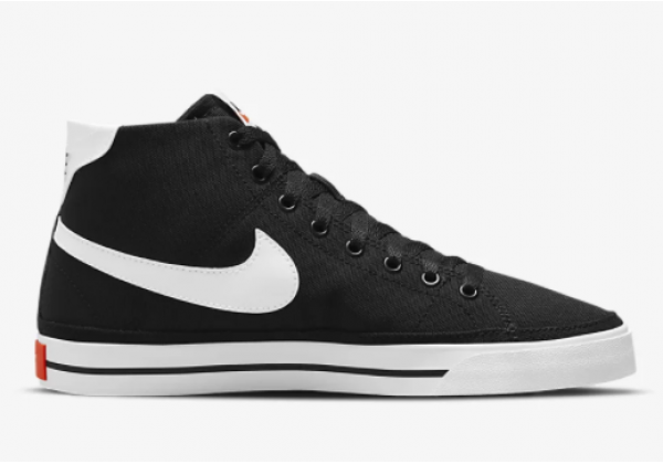 Кроссовки Nike Court Legacy Canvas Mid черные