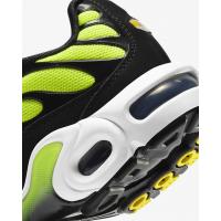 Кроссовки Nike Air Max Plus черные с зеленым
