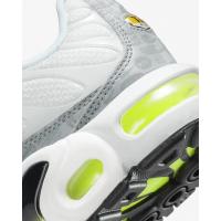 Кроссовки Nike Air Max Plus серые с зеленым