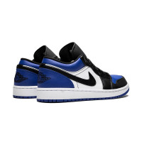 Кроссовки Nike Air Jordan 1 Low Blue синие с черным