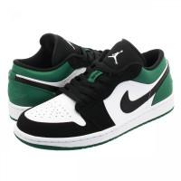 Кроссовки Nike Air Jordan 1 Low Mystic Green зеленые