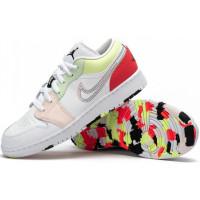 Кроссовки Nike Air Jordan 1 Low GS мульти