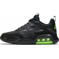Кроссовки Nike Air Jordan 200 черные с зеленым