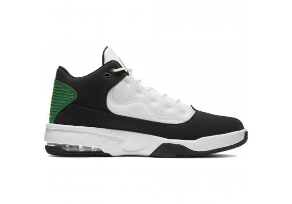 Кроссовки Nike Air Jordan Max Aura 2 черные с зеленым