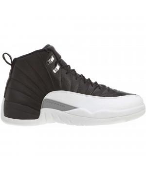 Кроссовки Nike Air Jordan 12 черно-белые
