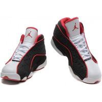 Кроссовки Nike Air Jordan 13 Retro черные с красным