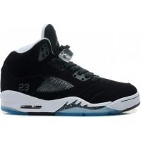 Кроссовки Nike Air Jordan 5 Retro Oreo черные