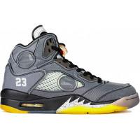 Кроссовки Nike Air Jordan 5 Retro SP серые