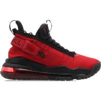 Кроссовки Nike Air Jordan 720 черные с красным