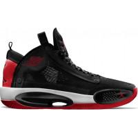 Кроссовки Nike Air Jordan XXXIV PF черные с красным