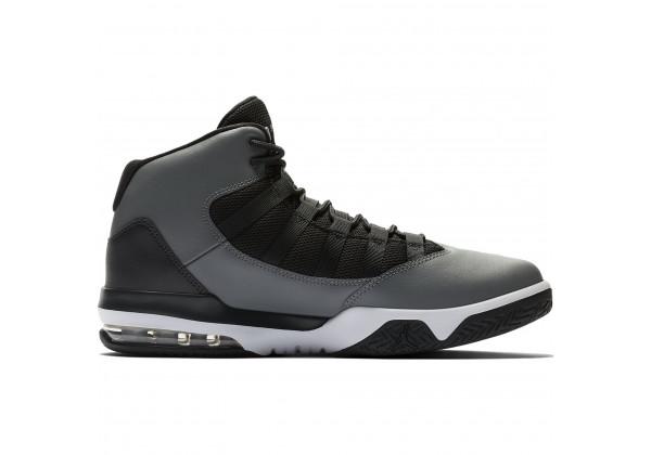 Кроссовки Nike Air Jordan Max Aura черные с серым