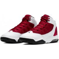 Кроссовки Nike Air Jordan Max Aura 2 белые с красным