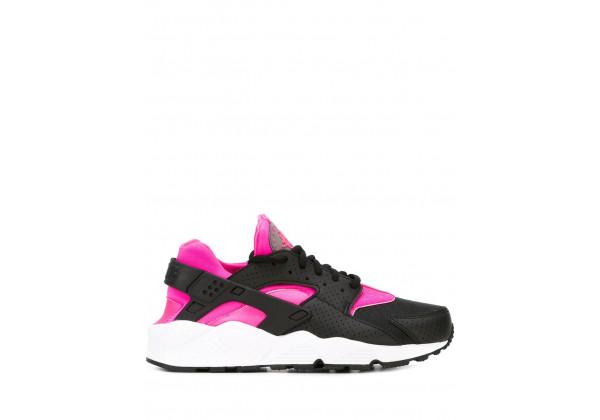 Кроссовки Air Huarache черно-розовые