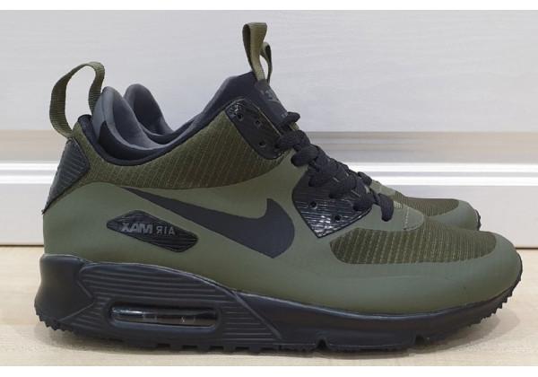 Кроссовки Nike Air Max зеленые