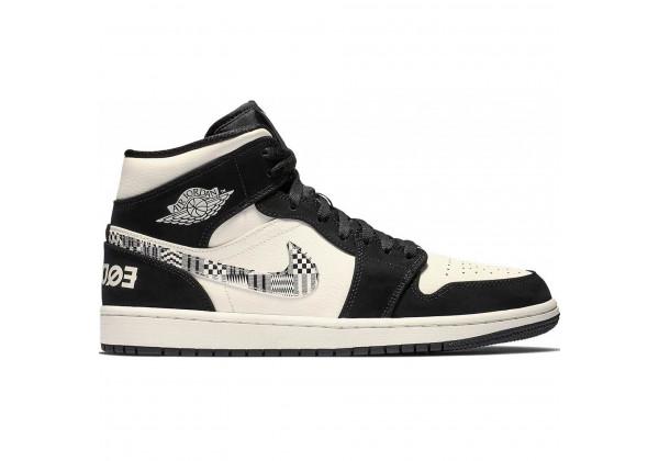 Nike Air Jordan 1 Retro Equality черно-белые