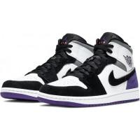 Nike Air Jordan 1 Retro Varsity Purple фиолетовые