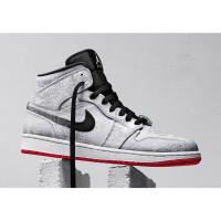 Nike Air Jordan 1 Edison Chen X Fearless белые