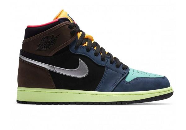 Nike Air Jordan 1 Retro OG Bio Hack синие