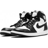 Nike Air Jordan 1 Retro White/Black черно-белые