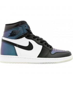 Nike Air Jordan 1 Retro White/Blue мульти