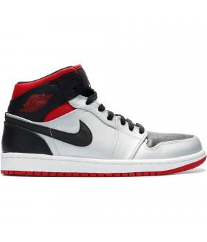 Nike Air Jordan 1 Retro Grey/Black серые с черным