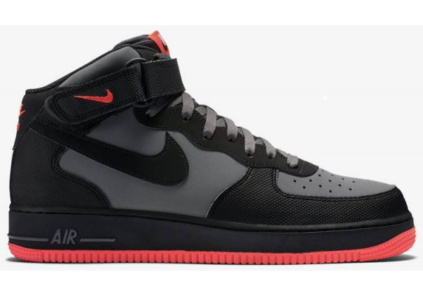 Nike кроссовки Air Force 1 Mid '07 GreyRed