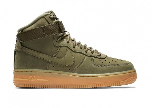 Nike кроссовки Air Force 1 Mid '07 Olive