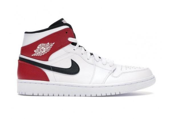 Nike кроссовки Air Jordan 1 Retro White Black Gym Red