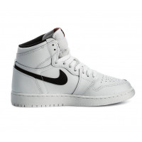Кроссовки Air Jordan 1 Retro WhiteBlack White