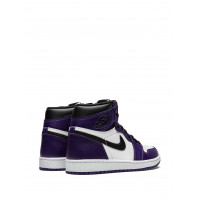 Кроссовки Nike Air Jordan 1 Retro High OG Court фиолетовые