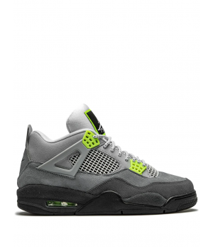 Кроссовки Nike Air Jordan 4 Retro Union SE серые