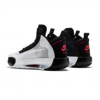 Кроссовки Nike Air Jordan 34 GS белые