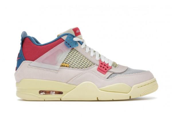 Кроссовки Nike Air Jordan 4 Retro Union SP 'Off-Noir' белые