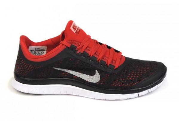 Кроссовки Nike Free Run 5.0 V3-10 Men черные c красным