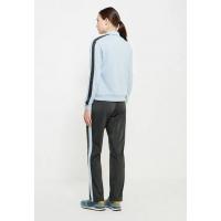 Костюм спортивный женский Nike Women's Nike Sportswear Track Suit голубой с черным