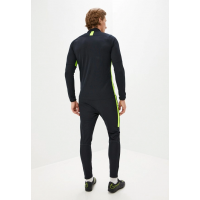 Костюм спортивный мужской Nike черный с зеленым