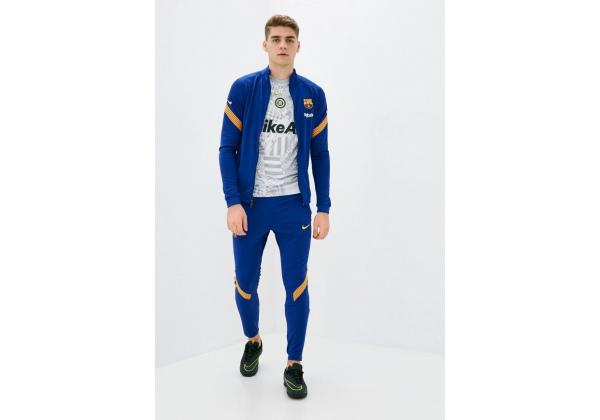 Костюм спортивный мужской FCB DRY Nike синий
