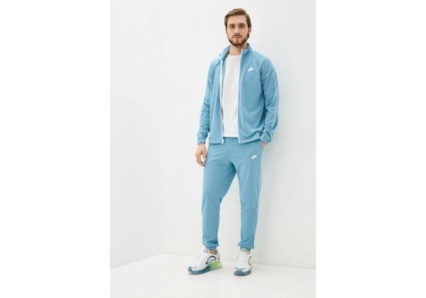 Костюм мужской Nike спортивный голубой