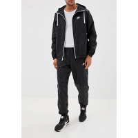 Костюм спортивный мужской Nike Sportswear Men's Hooded Woven Tracksuit черный