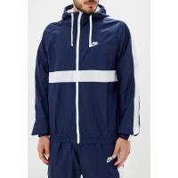 Костюм спортивный мужской Nike SPORTSWEAR MEN'S HOODED WOVEN TRACKSUIT синий