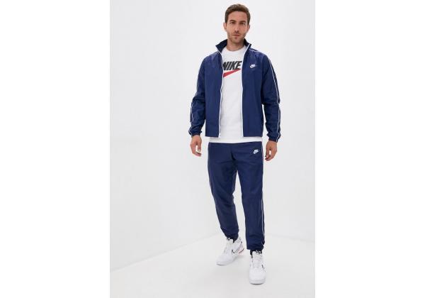 Костюм спортивный мужской Nike SPORTSWEAR MEN'S WOVEN TRACKSUIT синий
