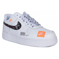 Кроссовки мужские Nike Air Force 1 Low Just Do It White