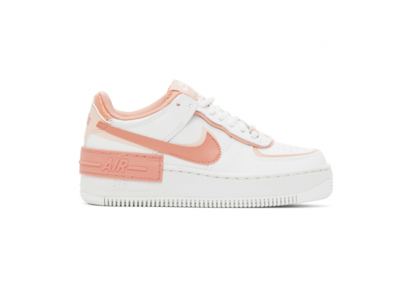 Nike кроссовки Air Force 1 персиковые
