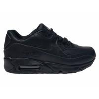 Кроссовки Nike Air Max 90 на меху черные